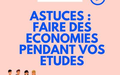 Faire des économies pendant vos études