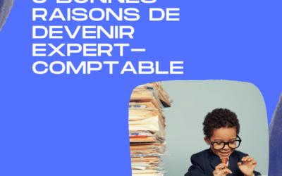 5 bonnes raisons de devenir expert-comptable